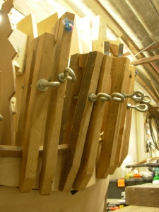 just a few home made clamps