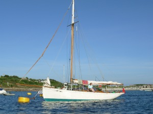 Biddy on the Isles of Scilly