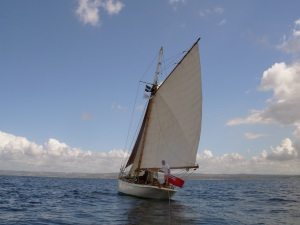 Sailing in the Bay of Douarnenez