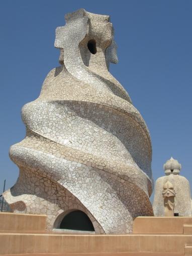 Gaudi rooftop