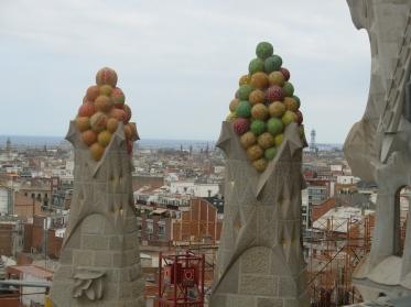 Gaudi's Sagrada balls